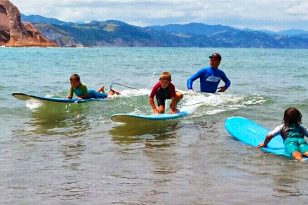 Itzurun. Flysch Surf School Zumaia