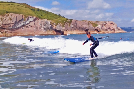 Itzurun. Flysch Surf Eskola Zumaia